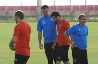 Mladen Krstajić, Luka Milivojević, Krstajić, Milivojević