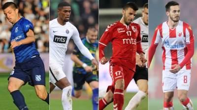 Kup Srbije, Mladost, Partizan, Radnički, Zvezda
