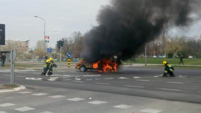 automobil, požar