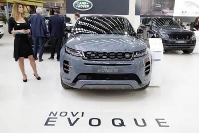 rendž rover, sajam automobila