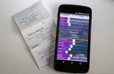 račun, plaćanje, telefonom, e banking, mobilni, telefon, android