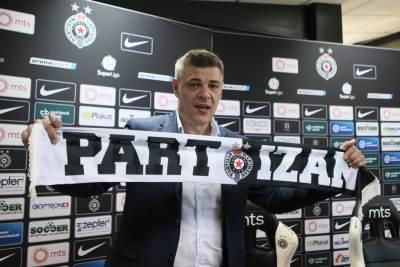 savo milošević, trener fk partizan