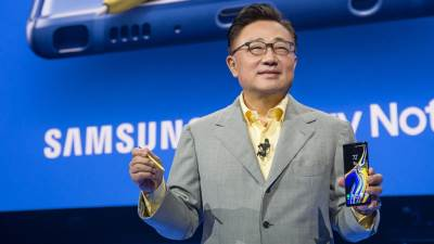 DJ Koh, Samsung Mobile CEO.