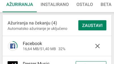 Google Play Store Download više aplikacija odjednom