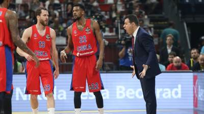 CSKA, Dimitris Itudis, Serhio Rodrigez, Kori Higins, Higins
