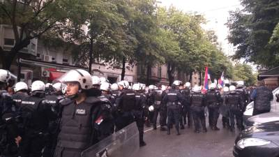 mirdita,policija,kordon,protesti,demonstracije