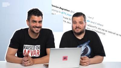 komentatori TV Arena sport, Sreten Rašković, Stevan Stevanović, komentatori