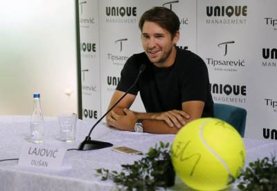 tenis, teniseri, Dušan Lajović