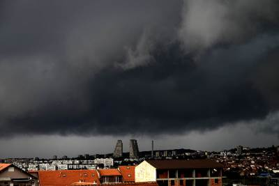 oblačno, oblaci, nevreme, padavine, kiša