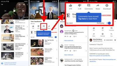 YouTube comments, YouTube komentari