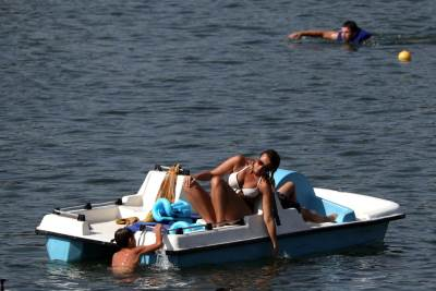 ada ciganlija, leto, voda, plaža, sunčanje