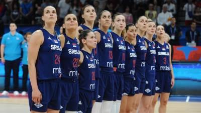 Košarkašice, Srbija