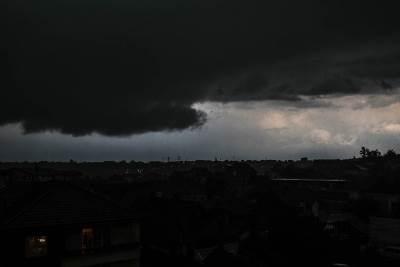 nevreme, kiša, pljusak, grmljavina, munja, oluja