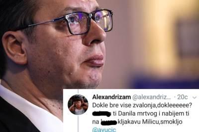 Vučić, tvit o Vučiću