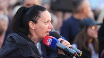 pravda za davida, protest